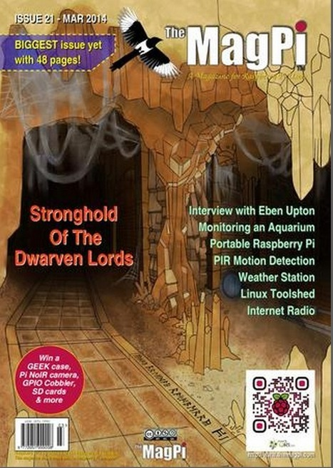 MagPi issue 21 – out now! | Raspberry Pi | Arduino, Netduino, Rasperry Pi! | Scoop.it