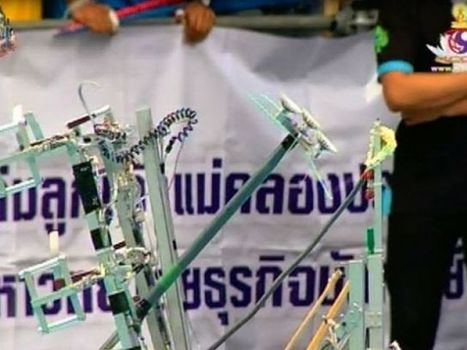 ทีมลูกเจ้าแม่คลองประปาฯ คว้าแชมป์ ABU Robot Contest Thailand 2013 | News about DPU | รวมข่าวมหาวิทยาลัยธุรกิจบัณฑิตย์ | Scoop.it