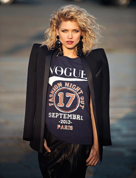 Le t-shirt collector de la Vogue Fashion Night 2013 - VOGUE.fr | Mode & Fashion | Scoop.it
