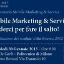 Mobile Marketing e Service: settore in crescita in Italia   Social media culture   Scoop.it