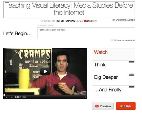 Flip Any YouTube Video into a Lesson with TED-Ed Tools » Copy / Paste by Peter Pappas | CF Educational Technology | Scoop.it