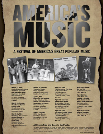 Linebaugh Library, MTSU set to celebrate America's music on The Murfreesboro Post | Tennessee Libraries | Scoop.it