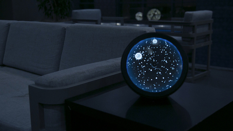 "Glittering ""Cosmos"" Clock Pairs the Magic of the Stars with Bluetooth Speaker Technology 