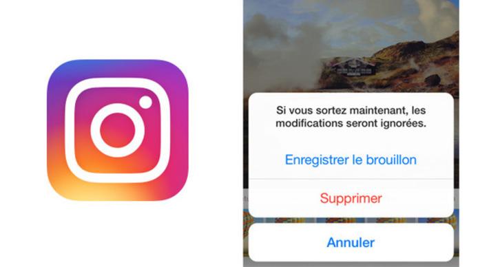 Nouveauté : Enregistrer un brouillon sur Instagram, comment ça marche ? | TIC et TICE mais... en français | Scoop.it