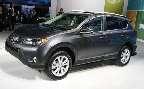 New 2013 Toyota RAV4 Unveiled At 2012 Los Angeles Auto Show | News | Scoop.it