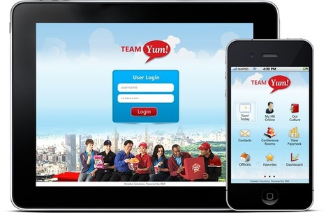 Yum! Brands, American National and more mobile intranets from Streebo | Mobile intranet examples | Scoop.it