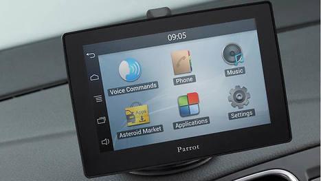 Digital-Radar: Parrot Asteroid: Tablets fürs Auto mit Apps und Navigation - Digital-Radar | Modelisation de données | Scoop.it