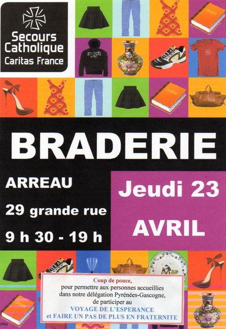 Braderie solidaire à Arreau le 23 avril   Vallée d'Aure - Pyrénées   Scoop.it