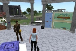 Attending a converence in a virtual world | Virtual University: Education in Virtual Worlds | Scoop.it