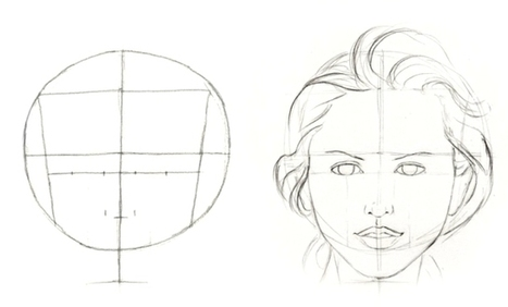 How to Shade a Face and Tips on Lighting | Free Art Tutorial | Like Sketch | Drawing | Scoop.it