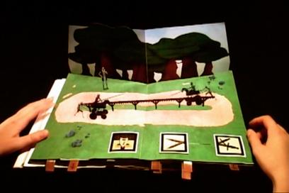 Actualité / Un livre mélant pop-up & réalité augmentée / étapes: design & culture visuelle | Réalité augmentée and e-commerce | La réalité augmentée | Scoop.it