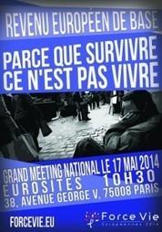 Force Vie Ile-de-France propose le Revenu de Base - Force Vie   Monnaies En Débat   Scoop.it