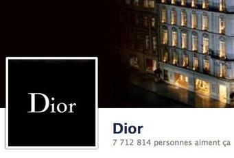 Analyse d'une Stratégie de Marque sur Facebook – Le cas Dior | WebZine E-Commerce &  E-Marketing - Alexandre Kuhn | Scoop.it