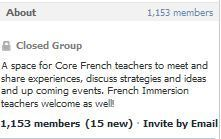 Ontario Core French Teachers - a Facebook group   Technology in the K-12 FSL Classroom - research, resources, and realizations   Scoop.it