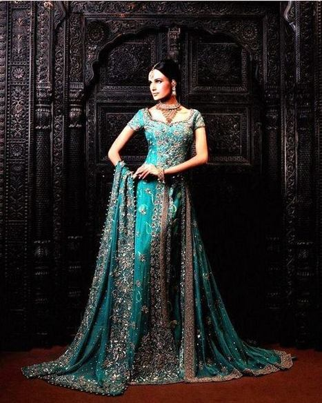 Designer wear lehenga cholis for bridal wear l for Indian wedding dresses usa
