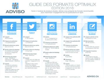 [Infographie] Médias sociaux : en 2016, maximisez l'engagement! | Adviso | Médias sociaux : Conseils, Astuces et stratégies | Scoop.it