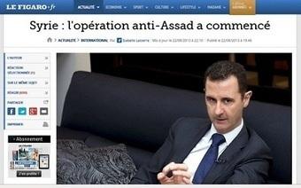 Syrie : L'honneur perdu du Figaro!! | Saif al Islam | Scoop.it