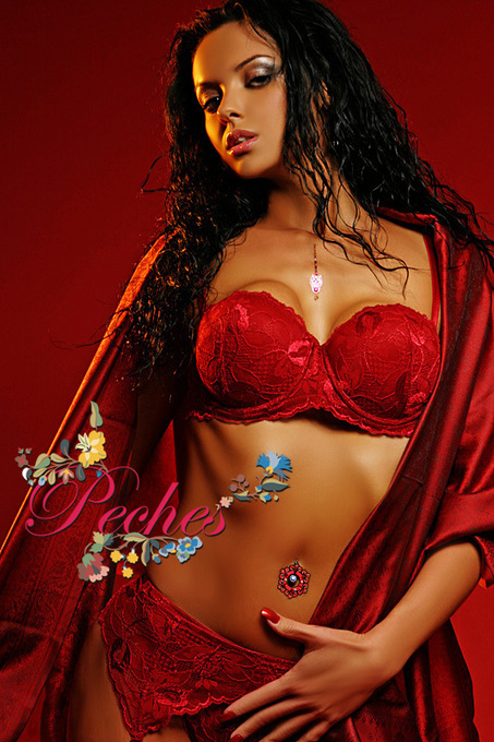 Padded Push Up Bra With Underwire Cup | Lace Thong | Scoop.it
