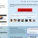 Boomerang: programmer l'envoi d'un mail. | Ce qui m'intéresse | Scoop.it