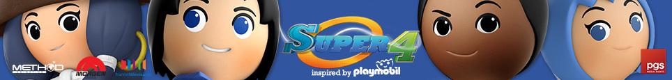 Super 4, the Playmobil TV-series