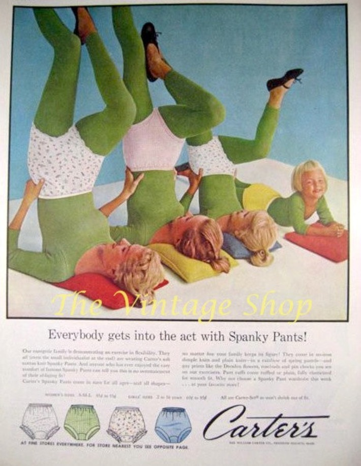 Goofy Carters Spanky Pants Vintage Advertising | Kitsch | Scoop.it