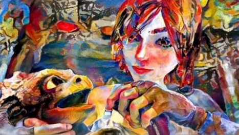 Deep learning algorithm paints smooth-moving works of art | Knowmads, Infocology of the future | Scoop.it