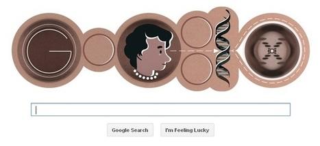 Google doodle honors birthday of biophysicist Rosalind Franklin - CNET (blog)   Nmodes   Scoop.it