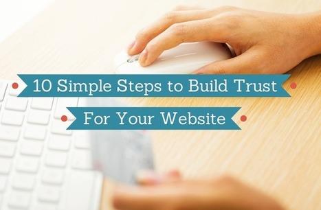 10 Ways to Build Trust for eCommerce Websites | Websites - ecommerce | Scoop.it