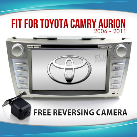 """8"""" Toyota Camry Aurion Car LCD DVD GPS Radio Player 
