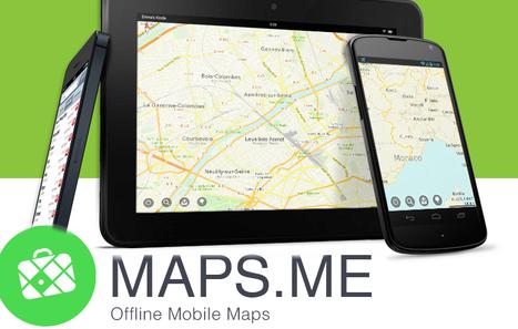 Maps.me, la app de mapas offline, pasa a ser gratis en Android | MLKtoSCL | Scoop.it