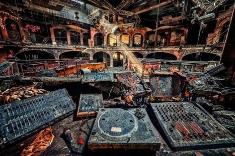 10 Incredible Photos of Abandoned Nightclubs From Around The World - WhiteRaverRafting | DJing | Scoop.it