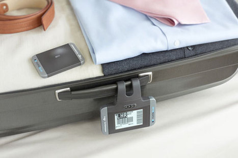 Air France-KLM unveils new permanent bag tag and bag tracking device | Innovation watch | Scoop.it