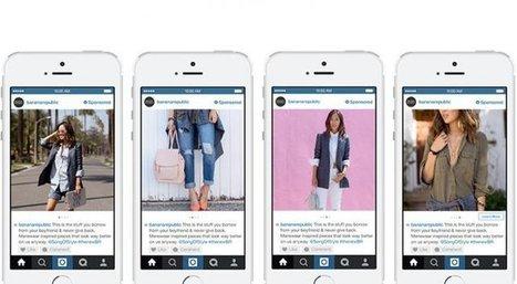 Instagram commence lui aussi à draguer les e-commerçants | Notre environnement | Scoop.it