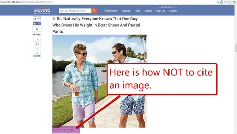 How Not to Cite an Image | FootprintDigital | Scoop.it