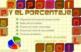 porcentajes y proporcionalidad - mucho más que papel y lápiz | Proporcionalidad | Scoop.it