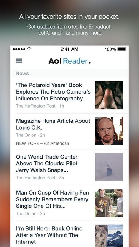 AOL Reader: here comes the iOS App | RSS Circus : veille stratégique, intelligence économique, curation, publication, Web 2.0 | Scoop.it
