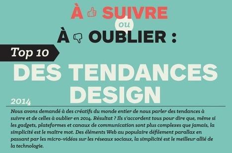 [Infographie] Top 10 des tendances design - ID'seed, germe de communication   DESIGN   Scoop.it