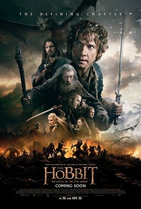 Watch All Three Films in Peter Jackson's THE HOBBIT Trilogy on Monday ... - We Are Movie Geeks | 'The Hobbit' Film | Scoop.it