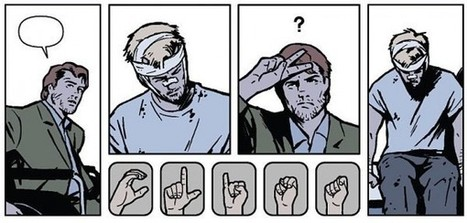 Hawkeye's hearing, or How to use signs in storytelling   Transmedia: Storytelling for the Digital Age   Scoop.it