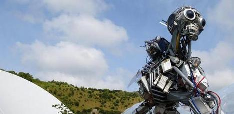 WEEE Man sculpture, waste, recycling - Eden Project, Cornwall | English for Teachers B2 Marbella | Scoop.it