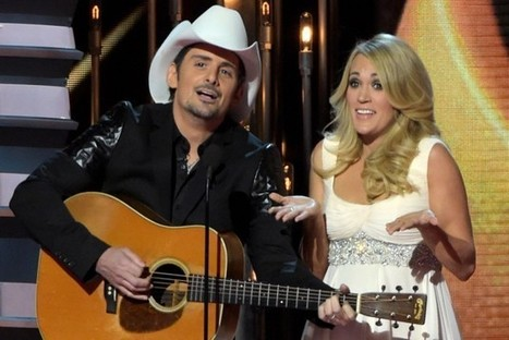 Carrie Underwood: Brad Paisley 'Was Part of the Reason' I Wanted a Family | Country Music Today | Scoop.it