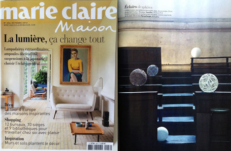 communiqu de presse publications revue de presse magazines deco oct nov 2012. Black Bedroom Furniture Sets. Home Design Ideas