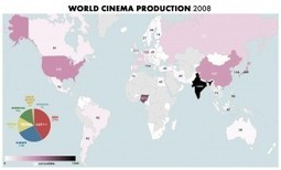 La carte du monde de la production cinématographique | La Longue-vue | Scoop.it