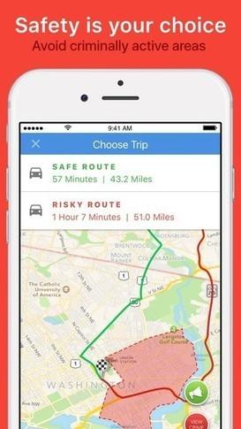 Hoe door GIS en GPS crime tracking en persoonlijke veiligheid revolutionair veranderen | aardrijkskunde | Scoop.it