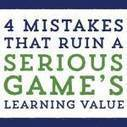 4 Mistakes that Ruin a Serious Game's Learning Value | web alive | Scoop.it