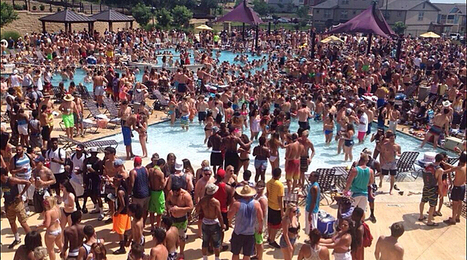 San Marcos pool party makes national news | Texas Stream Team | Scoop.it