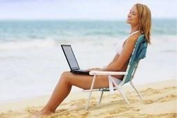 47,2 % des vacanciers emmèneront leur PC dans leurs bagages | Mobinautes | Scoop.it