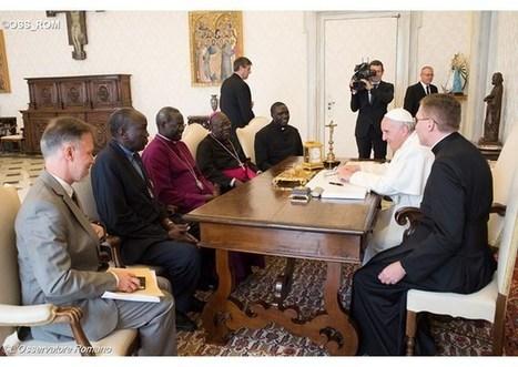 Pápež František dostal pozvanie od náboženských lídrov navštíviť Južný Sudán | Správy Výveska | Scoop.it