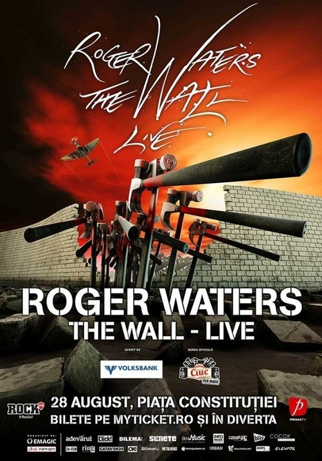 Roger Waters in Bucharest in a monumental show - I explore Romania | Romania | Scoop.it