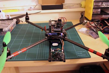 ArduCopter Quad Carbon Frame DIY Build - DIY Drones | Arduino Focus | Scoop.it